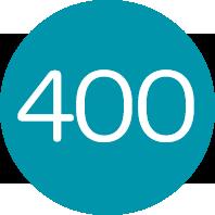We serve more than 400 children