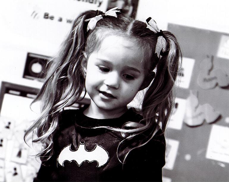 Klamath Family Head Start - Little Girl