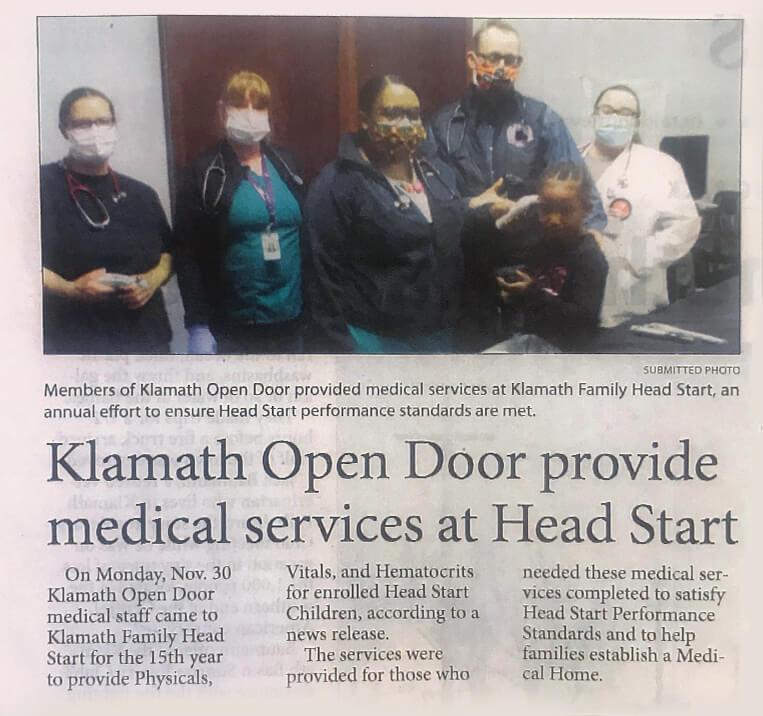 Klamath Health Partnership Open Door